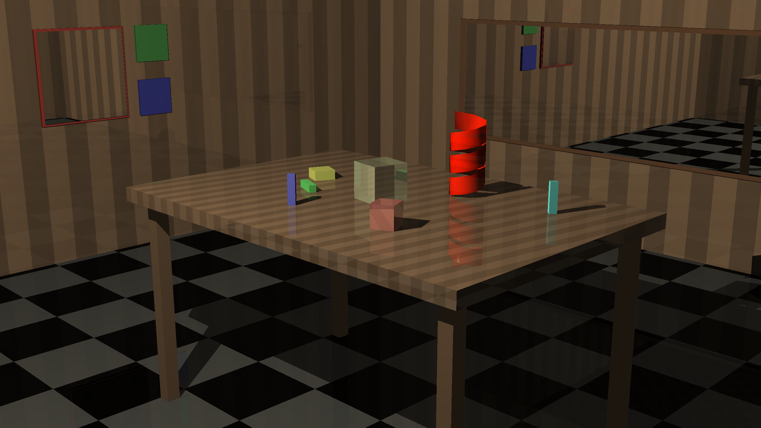 Example image from my Ray Tracer implementation